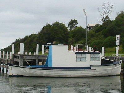 Boats and Water Craft around Lake Tyers Beach