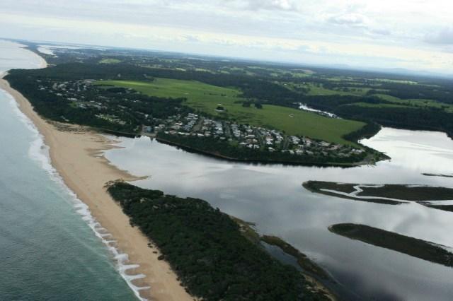 Lake Tyers Beach - Estuary Closures/Openings