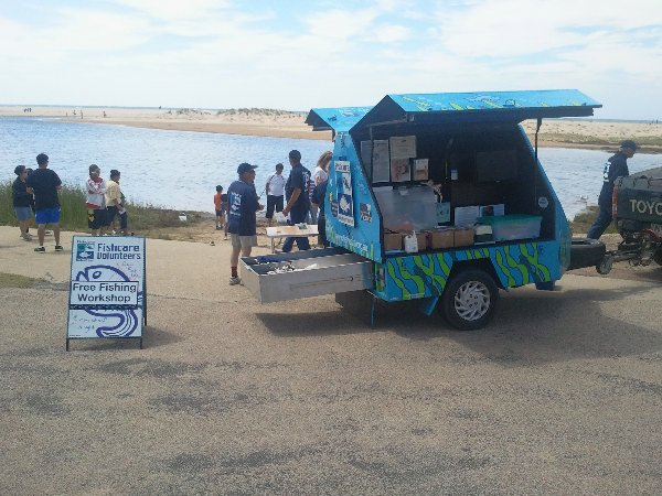 Fishcare at Lake Tyers Beach