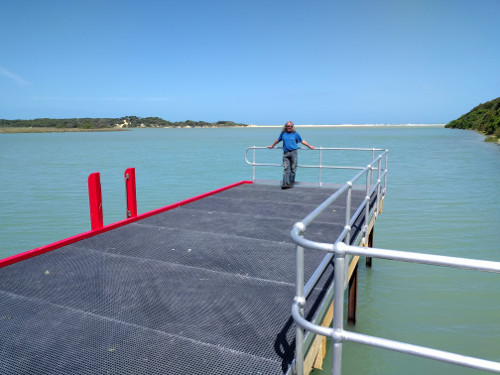 Finished Jetty at Nos2Boat Ramp, Lake Tyers Beach