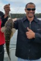 Flathead caught in Fern Bay, Lake Tyers